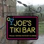 Picture of Tiki Bar Personalised Hanging  Bar Sign