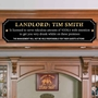 Picture of Funny Landlord name Plaque