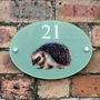 Picture of Hedgehog House Sign Plaque