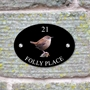 Picture of Wren Bird House Sign Plaque