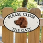 Picture of Irish Setter Gate Sign