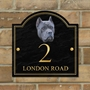 Picture of Personalised Blue Cane Corso House Sign