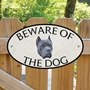 Picture of Blue Cane Corso Beware of The Dog Sign