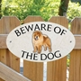 Picture of Chow Chow Beware of The Dog Sign