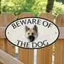 Picture of Japanese Akita Beware of The Dog Sign