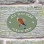 Picture of Kestral Bird House Sign Plaque