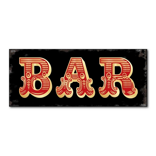 Picture of Large Vintage Bar Sign