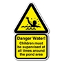 Picture of POND SAFETY SIGN
