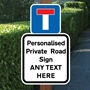 Picture of PRIVATE Drive Sign