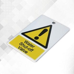 Picture of Rigid Plastic Printed Labels