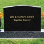 Picture of Lettering for existing gravestone