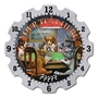 Picture of The Dog House Wall Clock