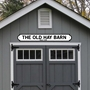 Picture of Barn Style Vintage Road Sign