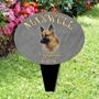 Picture of Personalised ALSATIAN DOG memorial plaque