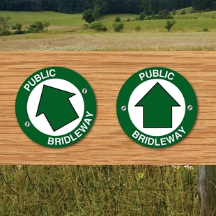 Picture of Public Bridleway sign -2PK