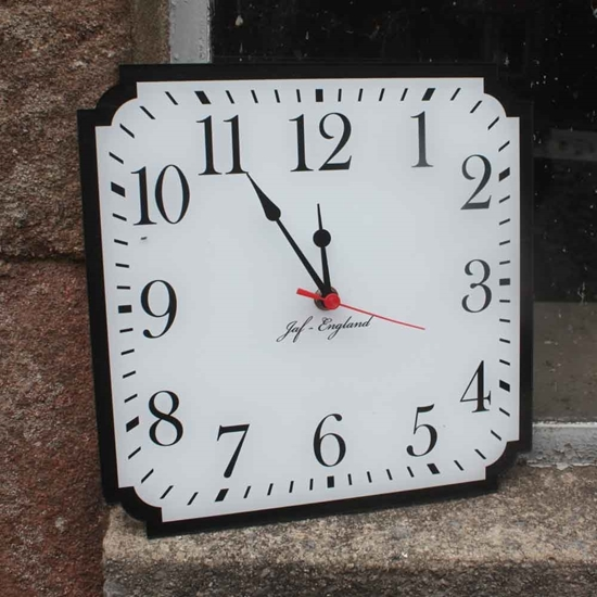 Picture of Square Wall Clock  -  Caseless Design