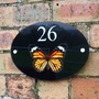 Picture of Personalised Butterfly House Sign