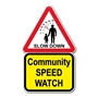 Picture of COMMUNITY SPEED WATCH SIGN
