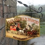 Picture of Home Bar Hanging  Pub Sign - Coach & Horses