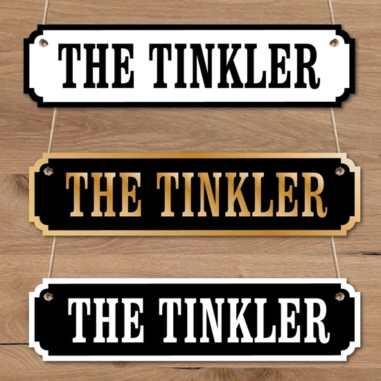 Picture of THE TINKLER Door Sign
