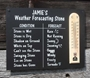 Picture of Personalised Weather Station Sign