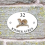 Picture of Mouse House Sign Plaque
