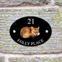 Picture of Personalised Fox House Sign
