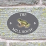 Picture of Personalised Frog House Sign