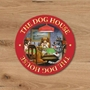 Picture of Set of 4 THE DOG HOUSE Beer mat coasters