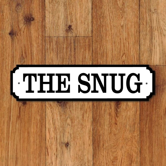 Picture of THE SNUG Door Nameplate