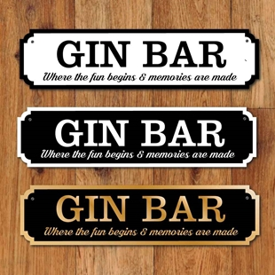 Picture of Gin Bar Sign