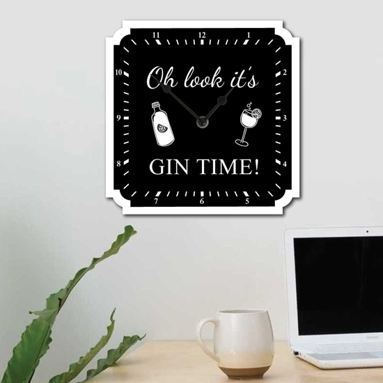 Picture of I's Gin Time Wall Clock