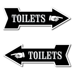 Picture of TOILETS Sign
