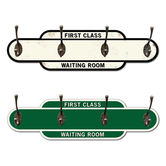 Picture of First Class Waiting Room Coat Hanger