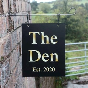 Picture of Personalised Hanging  Bar Sign