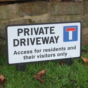 Picture of PRIVATE Drive Sign -  No Access Sign