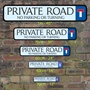 Picture of PRIVATE ROAD SIGN