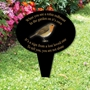Picture of When you see a robin redbreast garden sign