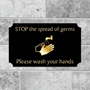 Picture of Please Wash Your Hands sign - Classic Design