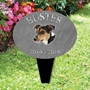 Picture of Personalised Jack Russell Dog memorial plaque