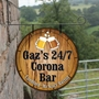 Picture of Barrel Top Hanging Sign