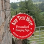Picture of Beer Bottle Top Hanging Sign