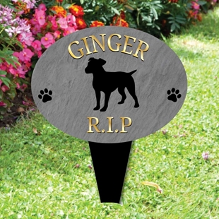 Picture of Personalised TERRIER DOG memorial plaque