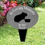 Picture of Personalised Guinea Pig garden memorial plaque