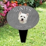 Picture of Personalised West Highland Terrier memorial plaque