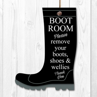 Picture of Please remove you boot, shoes & wellies