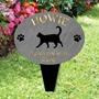 Picture of Personalised Cat garden memorial plaque