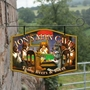 Picture of The Dog House Personalised Home Bar Hanging  Pub Sign