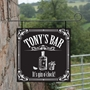 Picture of Mini Shed Hanging Gin Sign