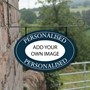 Picture of Oval Hanging House Sign